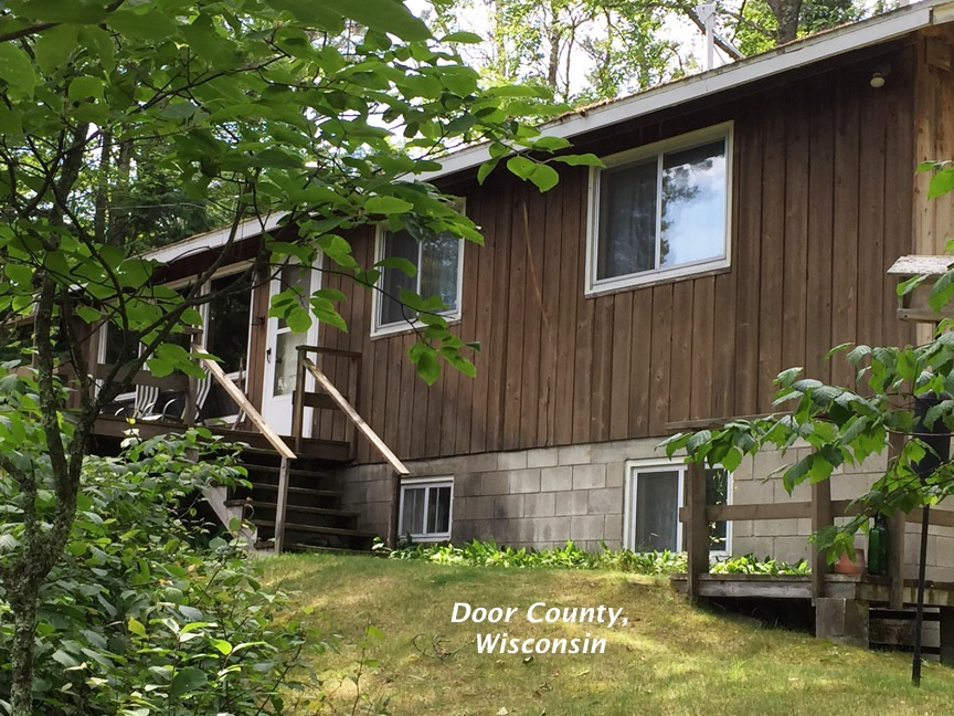 beautiful getaway island campground washington cabin the county family cabins wi in located door perfect