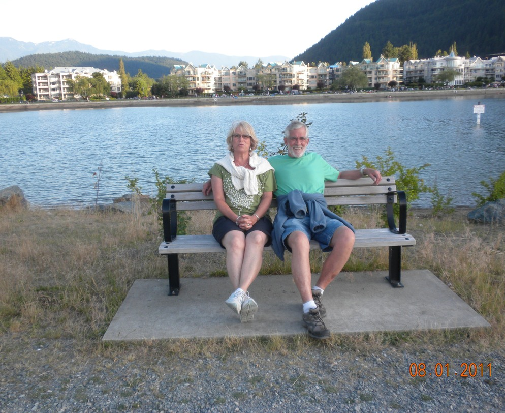 Harrison Hot springs, Ellen & Joe