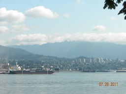 Stanley Pk view of N Vancouver
